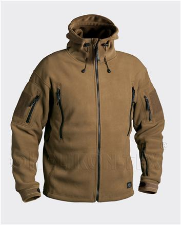 Bunda  fleece - PATRIOT - coyote - Helikon