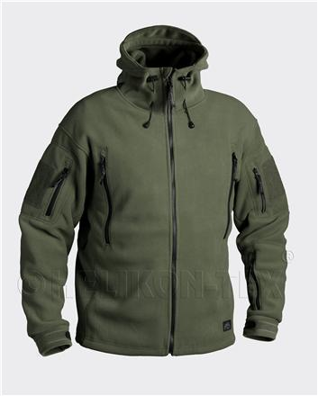 Bunda  fleece - PATRIOT - oliv - Helikon