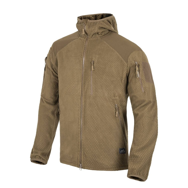 Bunda fleece - ALPHA Hoodie - Coyote - Helikon