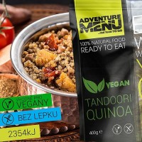 Tandoori Quinoa - VEGAN - Adventure menu
